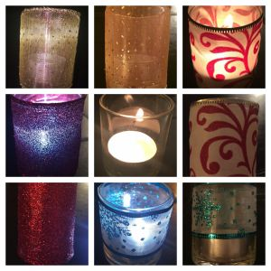 wrapped votives